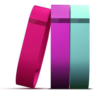 Fitbit Flex Replacement Band Vibrant 3-Pack (Large, Violet / Teal / Pink)