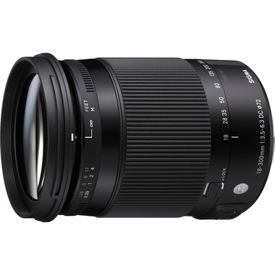 Sigma 18-300mm f/3.5-6.3 DC MACRO HSM Lens for Pentax