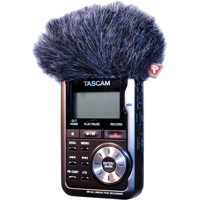 Rycote Mini Windjammer for Tascam DR-2D Field Recorder