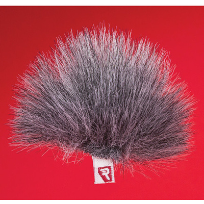 Rycote Single Gray Ristretto Lavalier Windjammer