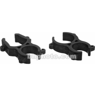 Rycote Stereo Microphone Clips for Modular Suspension System - Back to Back Mounted