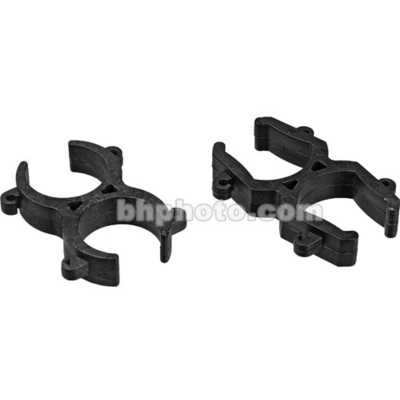 Rycote Stereo Microphone Clips for Modular Suspension System - Back to Back Mntd
