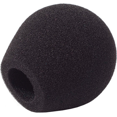 Rycote 18/32 Small Diaphragm Mic Foam (Black) (10-Pack)