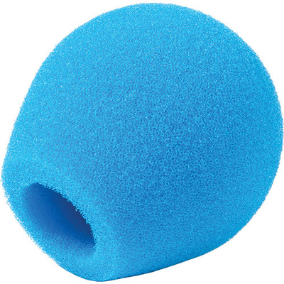 Rycote 18/32 Small Diaphragm Mic Foam (Blue) (10-Pack)