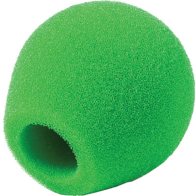 Rycote 18/32 Small Diaphragm Mic Foam (Green) (10-Pack)
