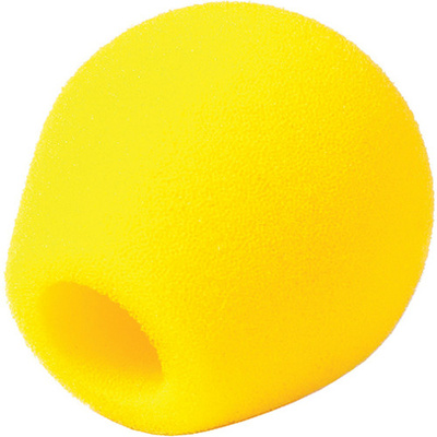 Rycote 18/32 Small Diaphragm Mic Foam (Yellow) (10-Pack)