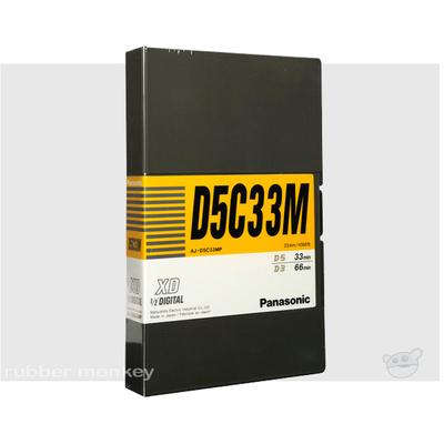 Panasonic D-5 Tape 33 (med)