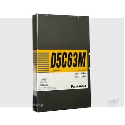 Panasonic D-5 Tape 63 (med)