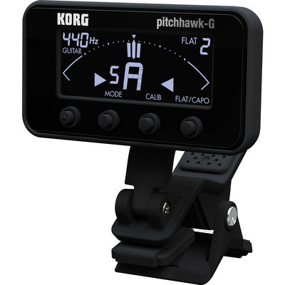 Korg  AW3G2 PitchHawk Clip-On Tuner for Guitar/Bass (Black)