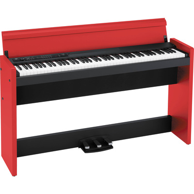 Korg LP-380 - Digital Piano (Red/Black)