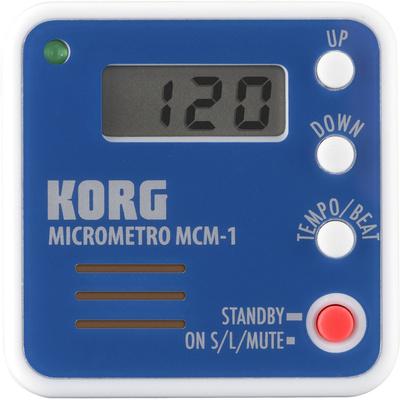 Korg microMetro MCM-1 Digital Metronome (Blue)