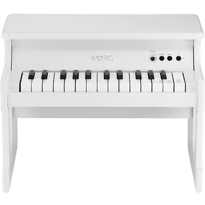 Korg tinyPIANO - Digital Toy Piano with Speakers (White)