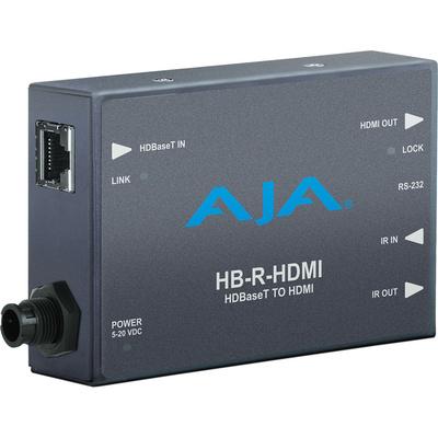 AJA HB-R-HDMI HDBaseT to HDMI Receiver