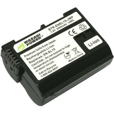 Wasabi Power Battery - Nikon EN-EL15 type