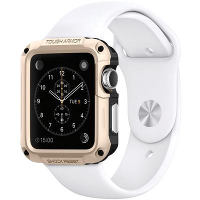 Spigen Tough Armor Case for 42mm Apple Watch (Champagne Gold)