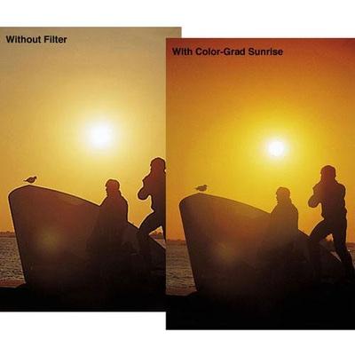 Tiffen 52mm Graduated Sunrise Filter