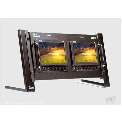 Ikan RM7X LCD Dual Rack Mount Unit