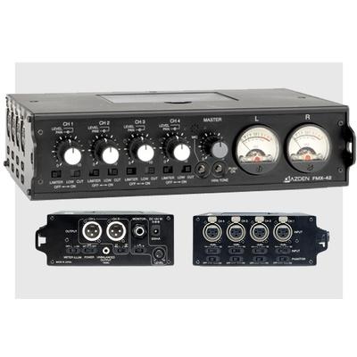 Azden FMX-42 4-channel portable mixer