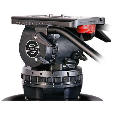 Sachtler Video 25 Plus Fluid Head (150mm Ball Base)