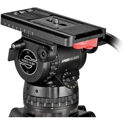 Sachtler Video 15 SB Fluid Head (100mm) - Supports 16 kg