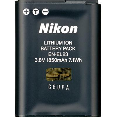 Nikon EN-EL23 Rechargeable Lithium-Ion Battery (3.8V, 1850mAh)