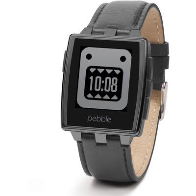Pebble Steel Smartwatch (Matte Black)