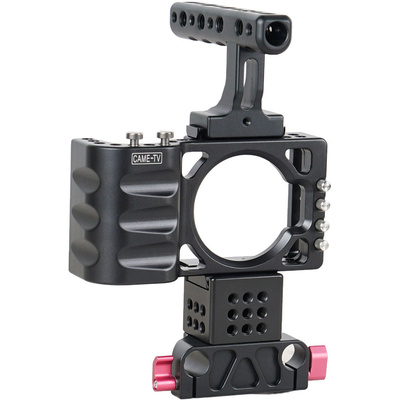 CAME-TV BMPCC Rig for Blackmagic Pocket Cinema Camera for 15mm Rod System