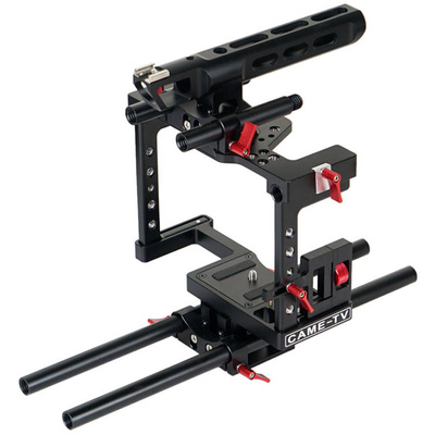 CAME-TV ZBTL01 DSLR Cage Rig Kit for Panasonic GH4/Sony a7S/5D Mark III