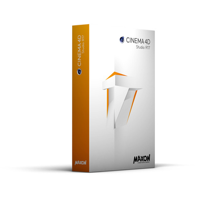 Maxon CINEMA 4D Studio R17 - Upgrade from Broadcast R16 (Download)