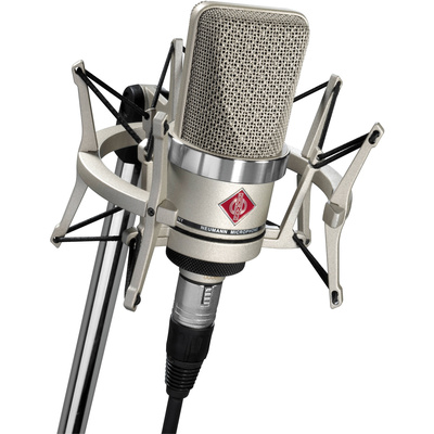 Neumann TLM-102 Large Diaphragm Studio Condenser Microphone (Studio Set, Nickel)