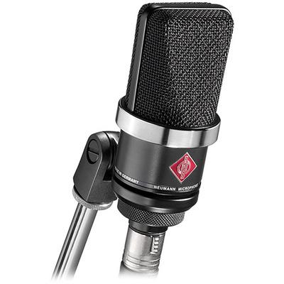 Neumann TLM-102 Large Diaphragm Studio Condenser Microphone (Black)