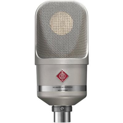 Neumann TLM 107 Multi-Pattern Large Diaphragm Condenser Microphone (Nickel)