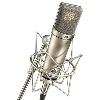 Neumann U 87 Ai Condenser Microphone (Studio Set, Nickel)