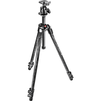 Manfrotto MK290XTC3-BH 290 Xtra Carbon Fiber Tripod with Ball Head