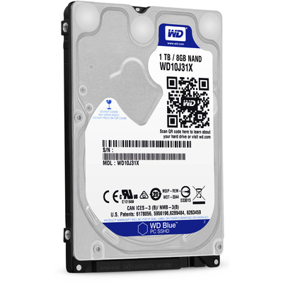 """WD 1TB Blue 2.5"""" Solid State Hybrid Drive"""