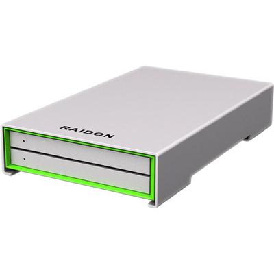 "Raidon SafeTANK GR2660-B3 2-Bay 2.5"" RAID Enclosure"