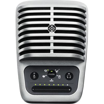 Shure MOTIV MV51 Digital Large-Diaphragm Condenser Mic for Mac/PC/iOS/Android