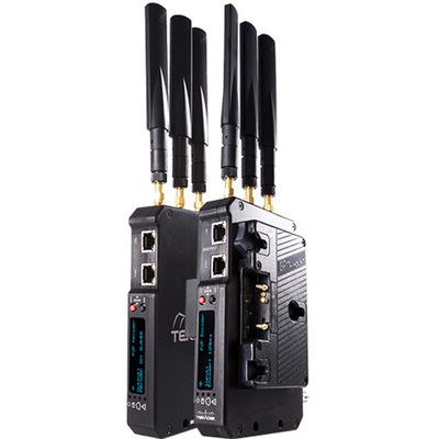 Teradek Beam Transmitter & Receiver Set with Two Gold-Mount Plates