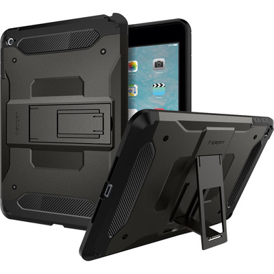Spigen Tough Armor Case for iPad mini 4 (Gunmetal)