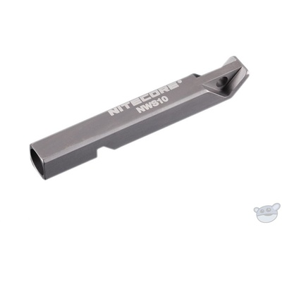 NITECORE NWS10 Titanium Outdoor Emergency Whistle (Single Chamber)