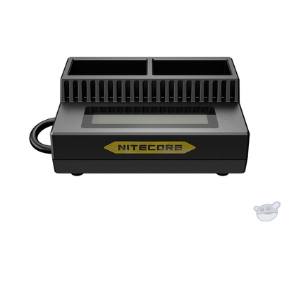 NITECORE UGP3 Intelligent 2-Slot USB Charger for GoPro HERO3/3+ Batteries