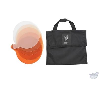 Litepanels Gel Filter Set (5-Piece) with Bag For Sola 4