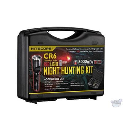 NITECORE CR6 Flashlight Hunting Kit