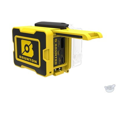 Brunton ALL DAY 2.0 Extended Battery Back for GoPro HERO, HERO3, HERO3+, and HERO4 (Yellow)