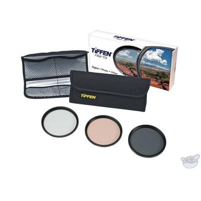 Tiffen 46mm Photo Essentials Filter Kit