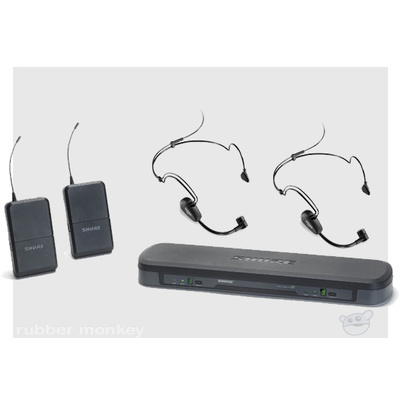 Shure PG188-PG30 Dual Headset Wireles System