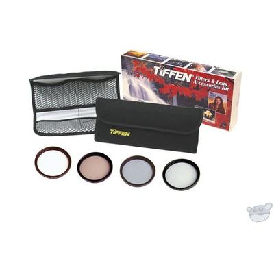 Tiffen 62mm Film Look Digital Video Filter Kit with Waist Pack