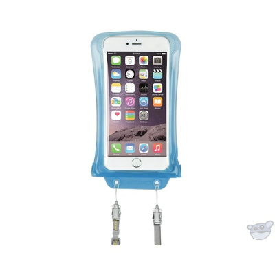 DiCAPac Waterproof Case for Samsung Galaxy Note I, II (Blue)