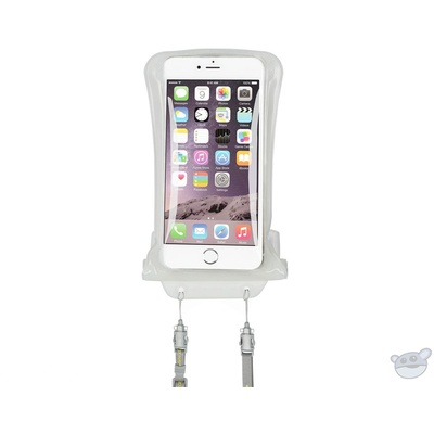 """DiCAPac Waterproof Case for Smartphones up to 5.7"""" (White)"""