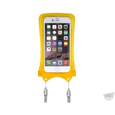 DiCAPac WPI10 Waterproof Case for iPhone (Yellow)